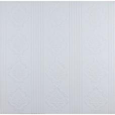 Самоклеюча 3D панель біла модерн 700x700x5.5мм