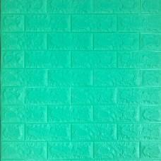 Самоклеющаяся декоративная 3D панель под мята кирпич 700x770x7мм